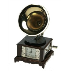 Настольные часы Граммофон