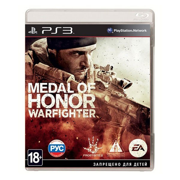 Игра Medal of Honor: Warfighter (PS3)