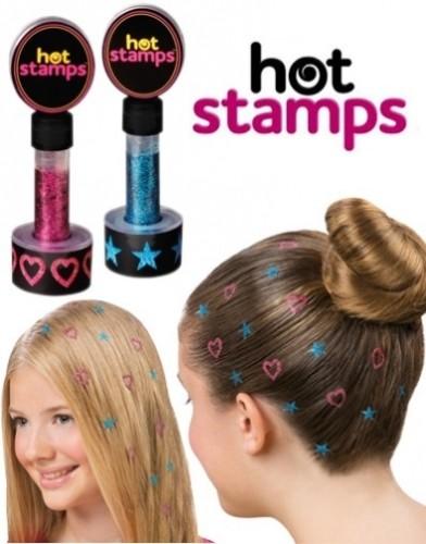 Блестки для волос Hot stamps