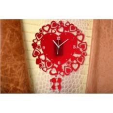 Настенные часы с маятником Любовь