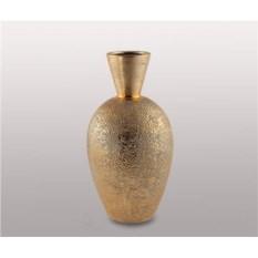 Керамическая ваза, цвет – золото