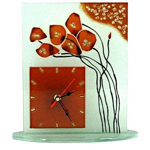 Часы настольные «Цветы»