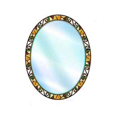 Зеркало с витражем И43-055