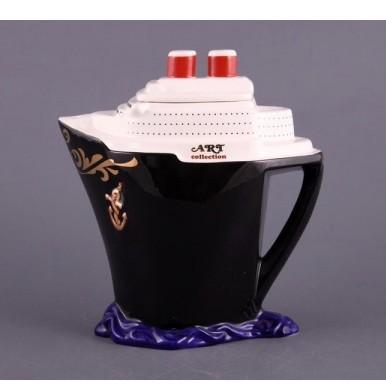 Заварочный чайник «Корабль черный»