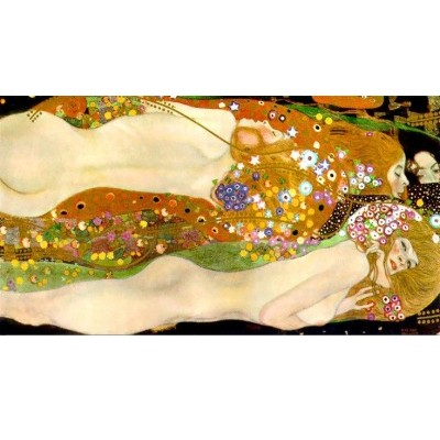 Репродукция картины Водяные змеи II