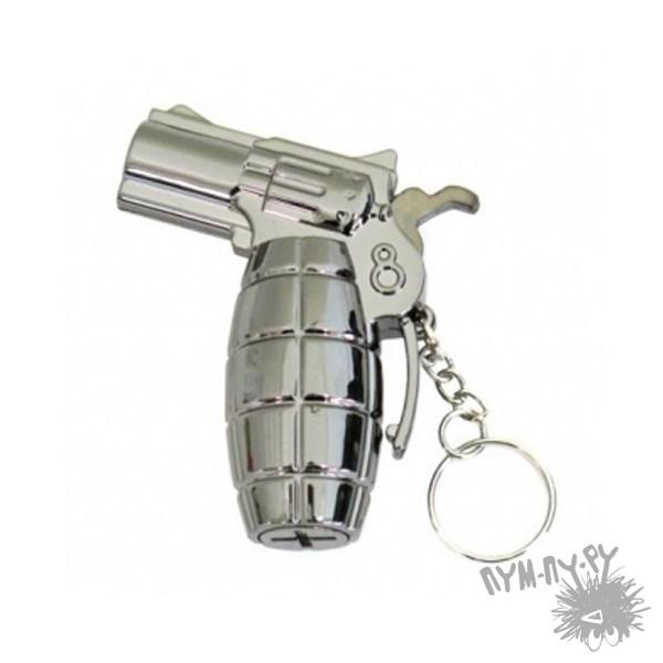 Брелок с фонариком Пистолет