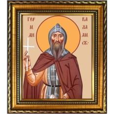 Икона на холсте Герман Валаамский преподобный