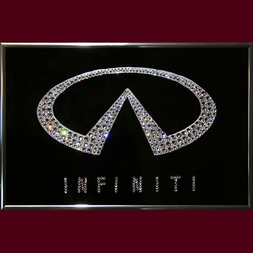 Картина с кристаллами Swarovski Infiniti