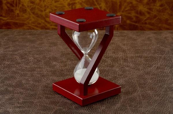 Песочные часы, коллекция Time (белый)