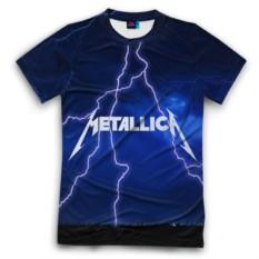 Мужская футболка 3D с полной запечаткой METALLICA
