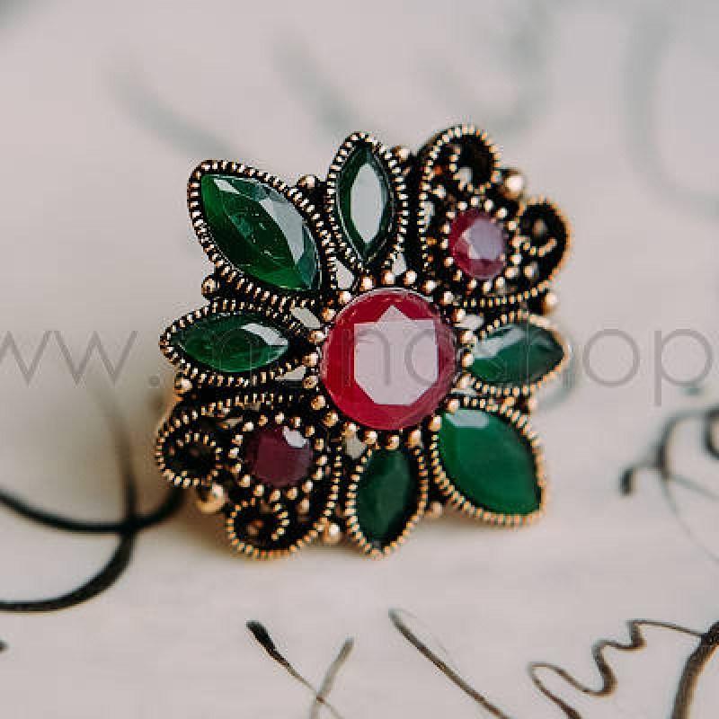 Кольцо с кристаллами Сваровски «Бриллиантовый блеск»
