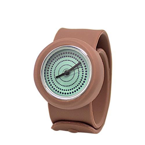 Слэп-часы mini Circles (бежевые)