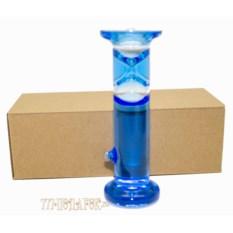 Жидкие песочные часы на 1 мин (высота 15см)