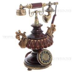 Декоративное изделие Телефон (цвет — коричневый)