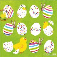 Салфетки Eggs allover бумажные (20 шт.)