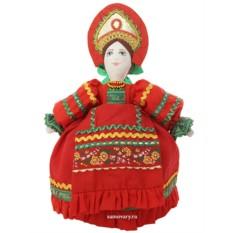 Кукла для улучшения заваривания чая Маня в красном