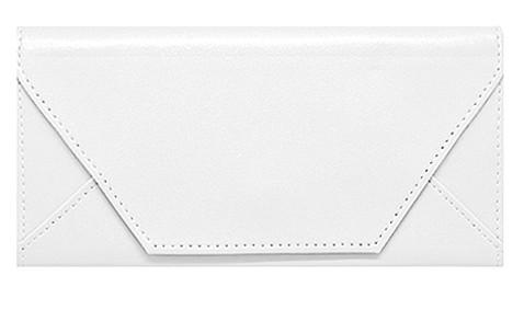 Белый кошелёк Конверт
