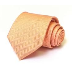 Мужской оранжевый галстук