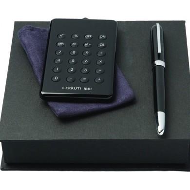 Набор (ручка перьевая, калькулятор)