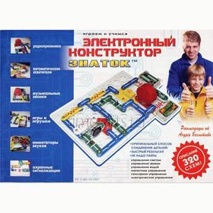 Электронный конструктор «Знаток» 320 схем