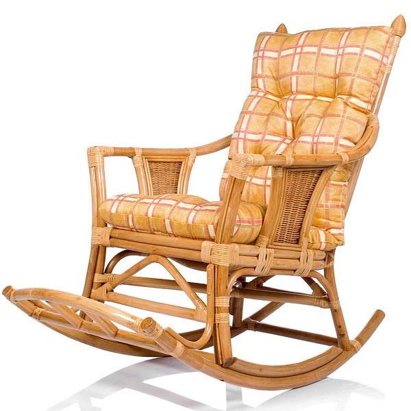 Кресло-качалка с подушкой Chita