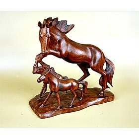 Мини-скульптура Лошади, 35 см