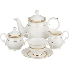Чайный сервиз Золотая София на 6 персон