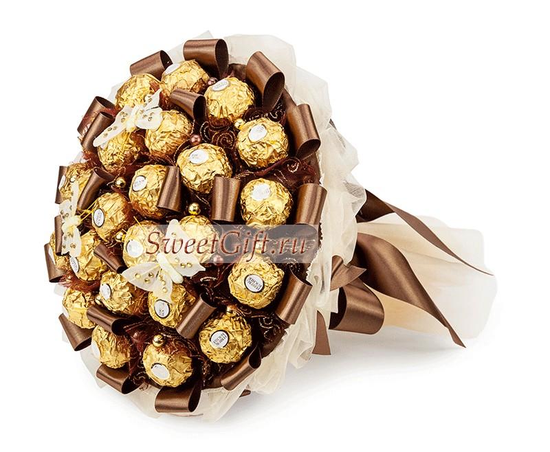 Букет из конфет Шоколадное наслаждение