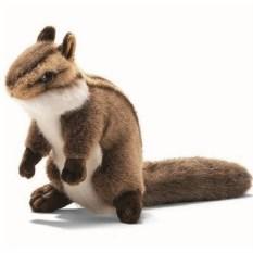Мягкая игрушка Бурундук сидящий 16 см от Hansa