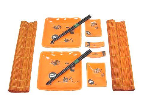 Обеденный набор: Оранжевое настроение