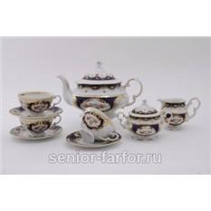 Чайный сервиз Роза на 12 персон (27 предметов)