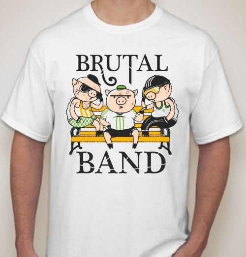 Мужская футболка Brutal band