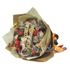 Букет из конфет Для классного руководителя