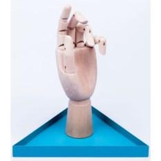 Голубой органайзер для украшений The Hand