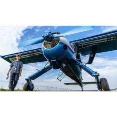 Обучение пилотированию на Вильга-35 М (30 мин.)