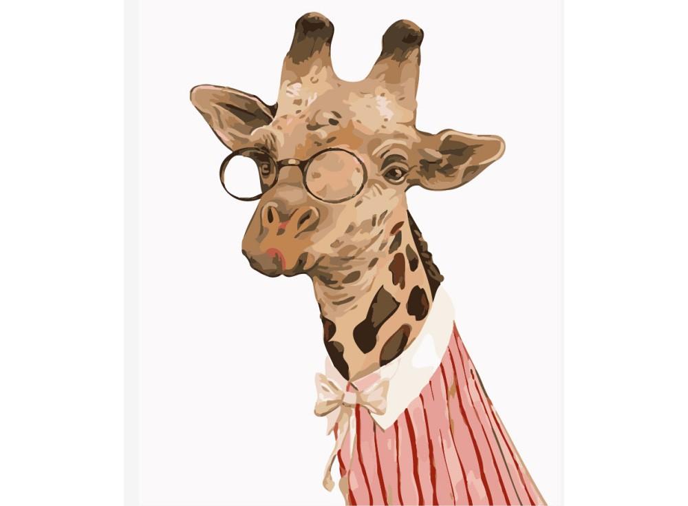 Картины по номерам «Леди Жирафа»