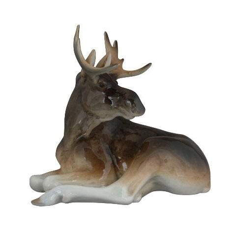 Анималистическая скульптура «Молодой лось»