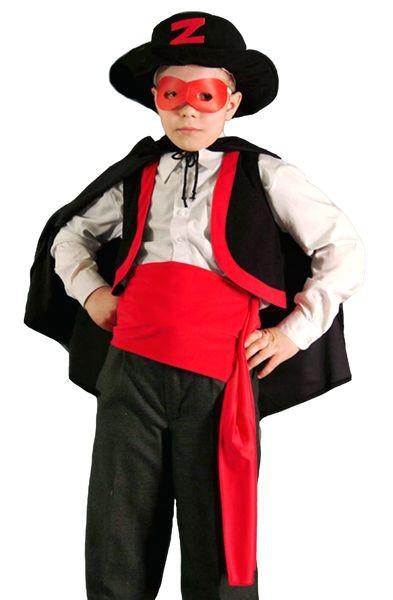 Карнавальный костюм Зорро, 6-10 лет
