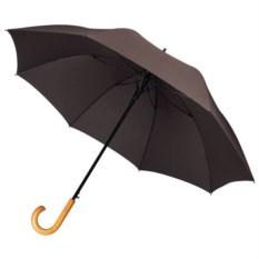 Зонт-трость Unit Classic (цвет — коричневый)