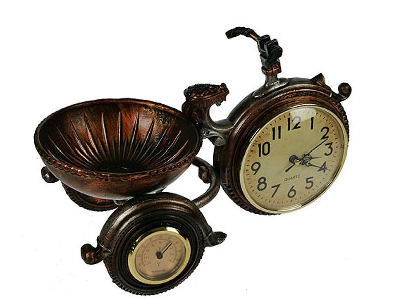 Настольные часы-термометр Велосипед