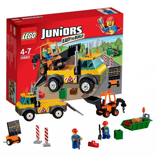 Конструктор Lego Juniors Грузовик дорожных служб
