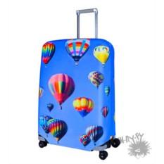 Чехол на чемодан Гжель