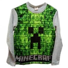 Футболка с длинными рукавами Minecraft Крипер