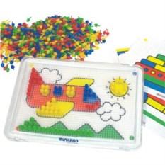 Набор Мозаика из 600 элементов (6 картинок) Miniland