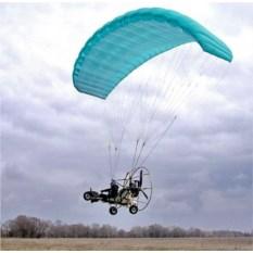 Полет на мотопараплане (15 минут с видео)