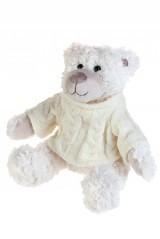 Мягкая игрушка Стильный мишка в свитере