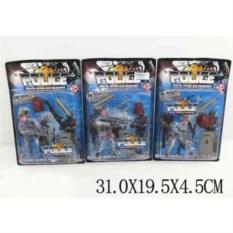 Пластмассовый игровой набор Полицейский с арсеналом оружия