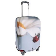 Большой чехол для чемодана Ромашка