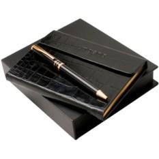 Подарочный набор Ungaro: дизайнерский блокнот, ручка