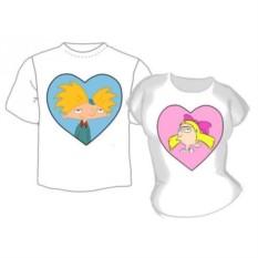 Парные футболки Хельга и Арнольд